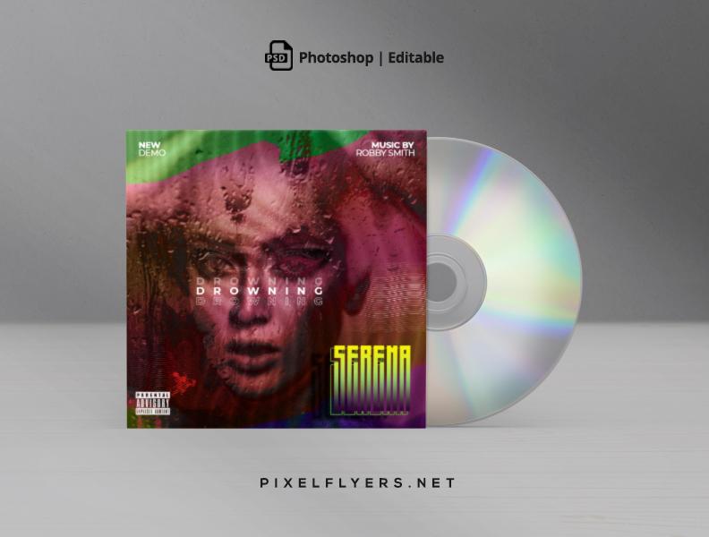 Artistic Mixtape Free CD Cover PSD Template