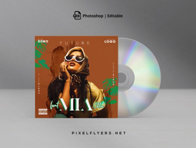 Future Mixtape CD Cover Free PSD Template