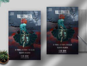 Halloween Night Free PSD Flyer Template