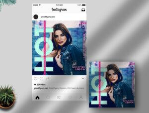 Hot Friday Night Free Instagram Post PSD Template