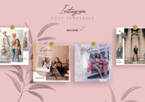 Promotional and Fashion Instagram Templates