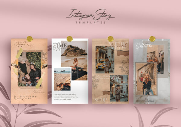 Style & Bloggers Instagram Banners Templates (SET)