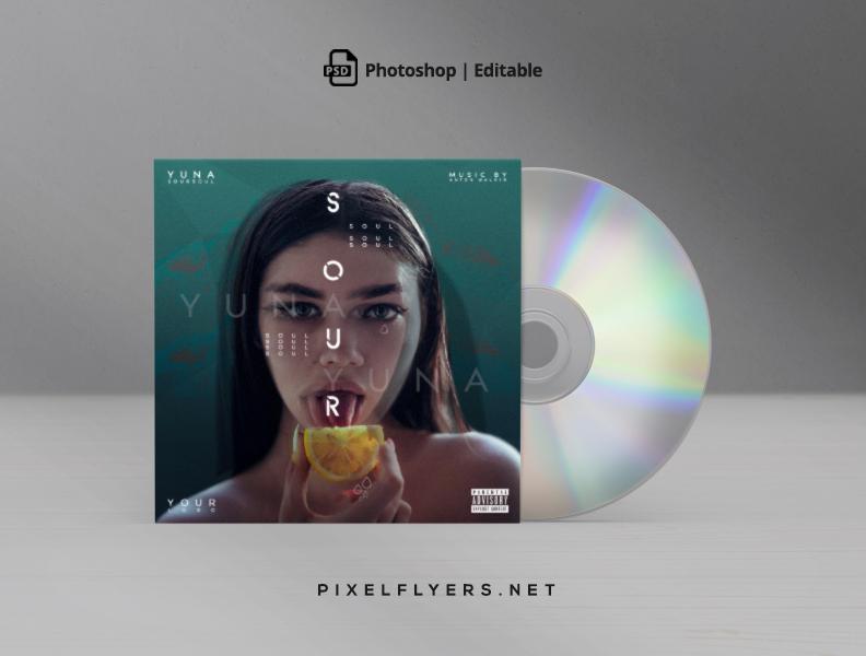 Artistic Mixtape Free CD Cover PSD