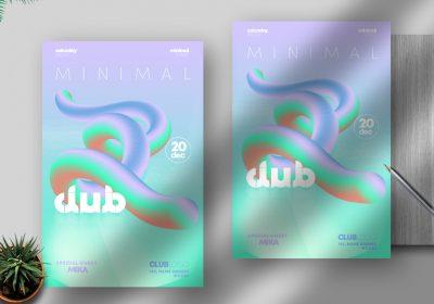 Minimal Free PSD Flyer Template