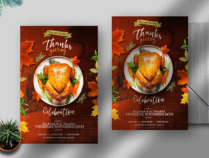 Thanks Giving Free PSD Flyer Template
