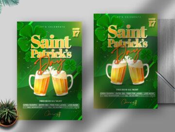 Saint Patrick's Day Free PSD Flyer Template