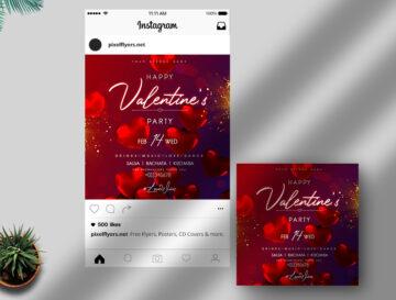 Valentine's Day Event Free Instagram Post